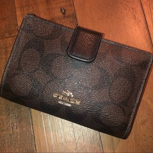 Used coach wallet